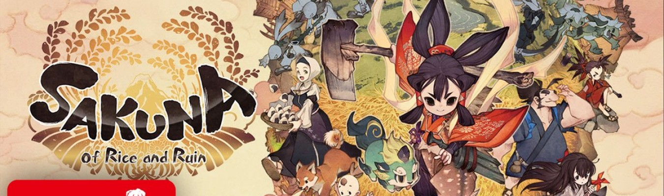 Sakuna: Of Rice and Ruin ganha gameplay direto do Nintendo Treehouse: Live