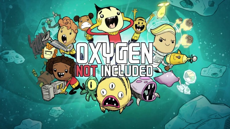Oxygen Not Included [Steam / Game Trailer]