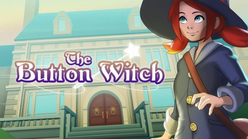 The Button Witch [Steam / Game Trailer]