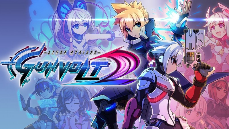 Azure Striker Gunvolt 2 [Steam / Game Trailer]